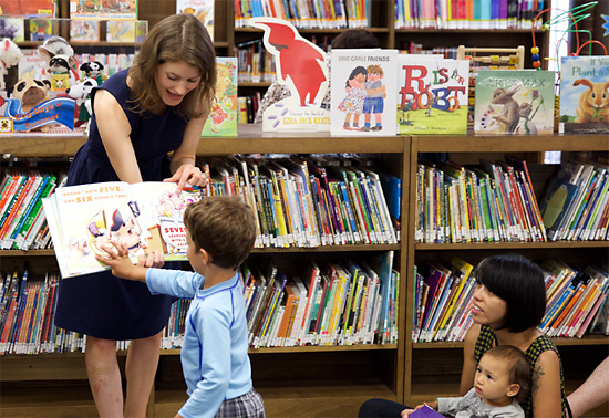 Brooklyn Public Library storytime