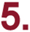 image of the number 5