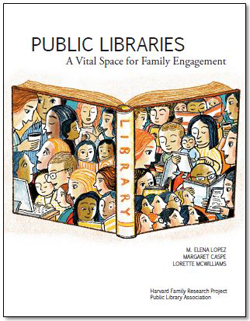 Public Libraries: A Vital Space for Family Engagement pub cover