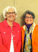 Photo of Paula Isett and Kathleen Reif