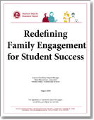 Redefining Family Engagement for Student Success publication cover